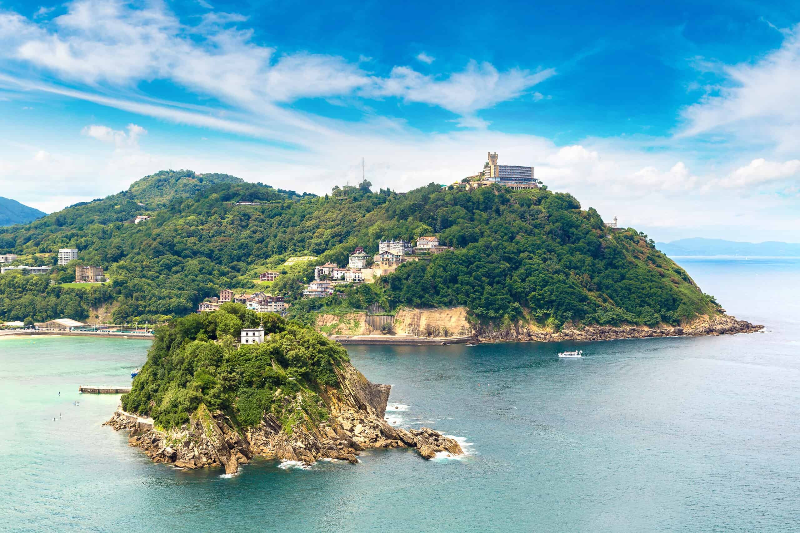 San Sebastian is a great place to visit in May in Europe