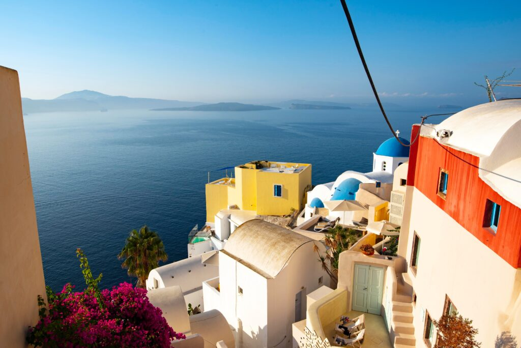 The Island of Santorini shines as a European destination to visit in May