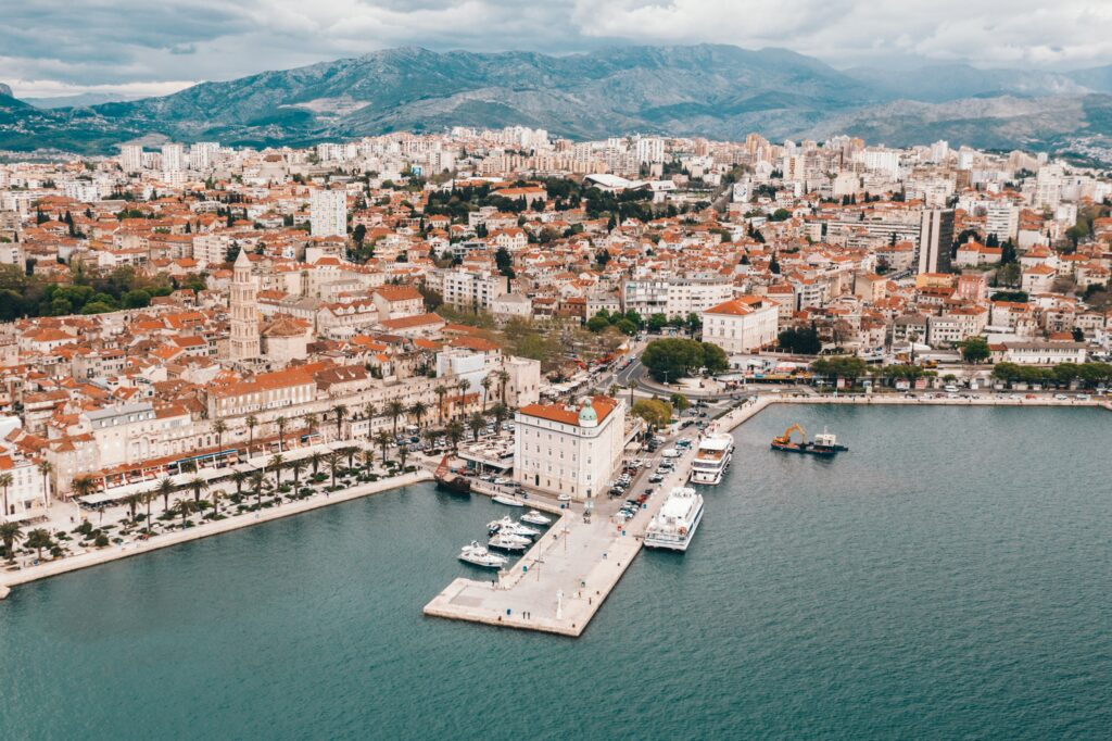Split, Croatia is one of the best places to visit in Europe in June