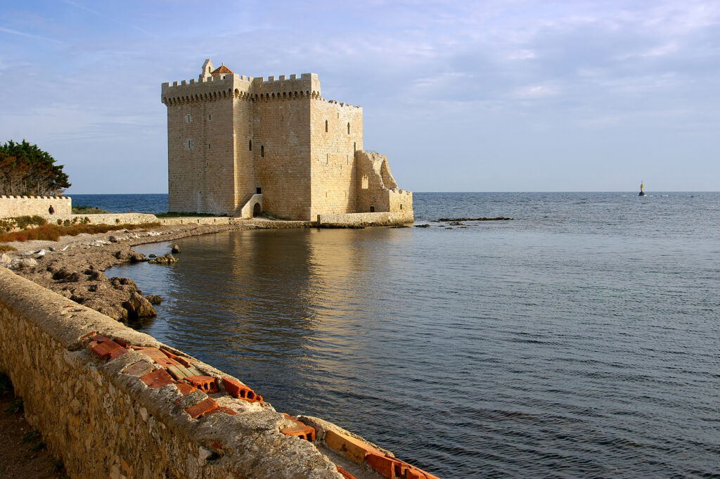 Saint-Honorat is one of the Lerins Islands in France