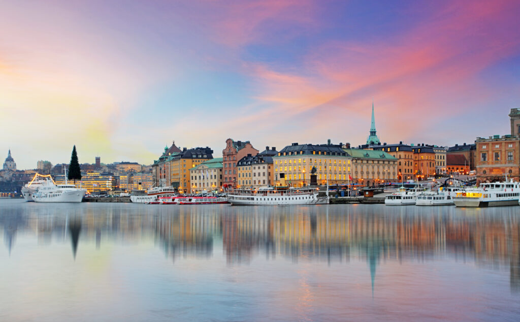 Stockholm is a fabulous European city to visit in April