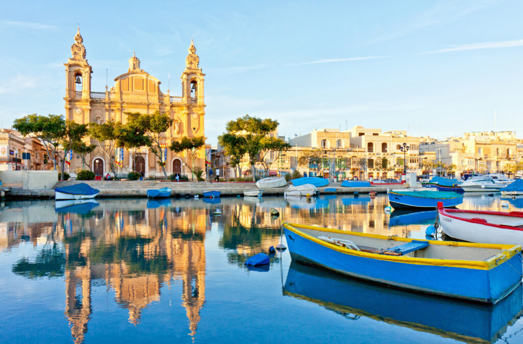 Valletta in Malta is a great place to visit in June in Europe