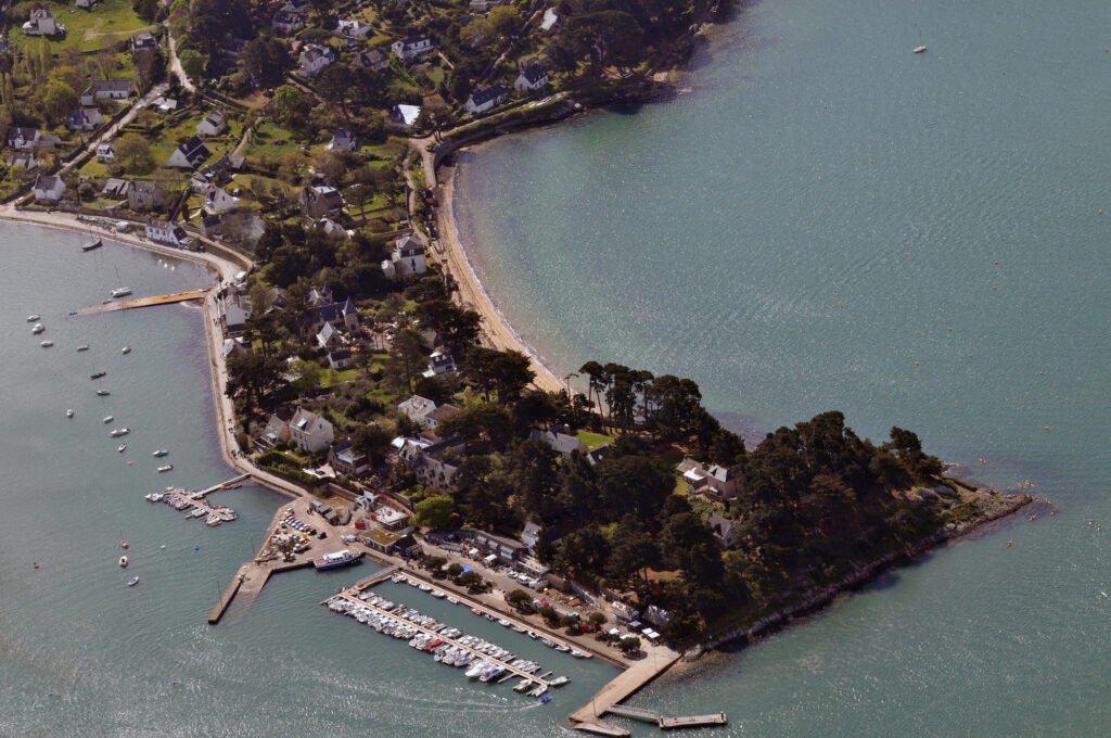 Ile aux Moines in the Gulf of Morbihan in Brittany