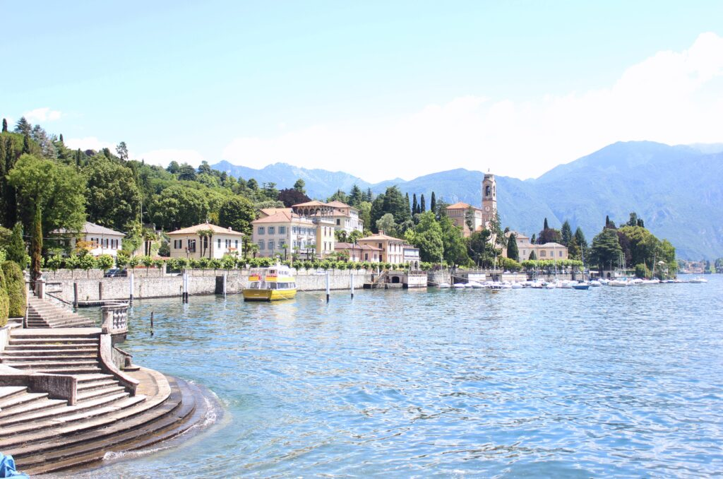 Lake Como, Italy, is one of the best places to visit in Europe in June