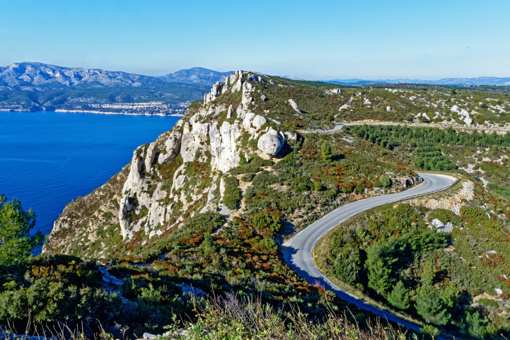 Route des Cretes Cassis, France