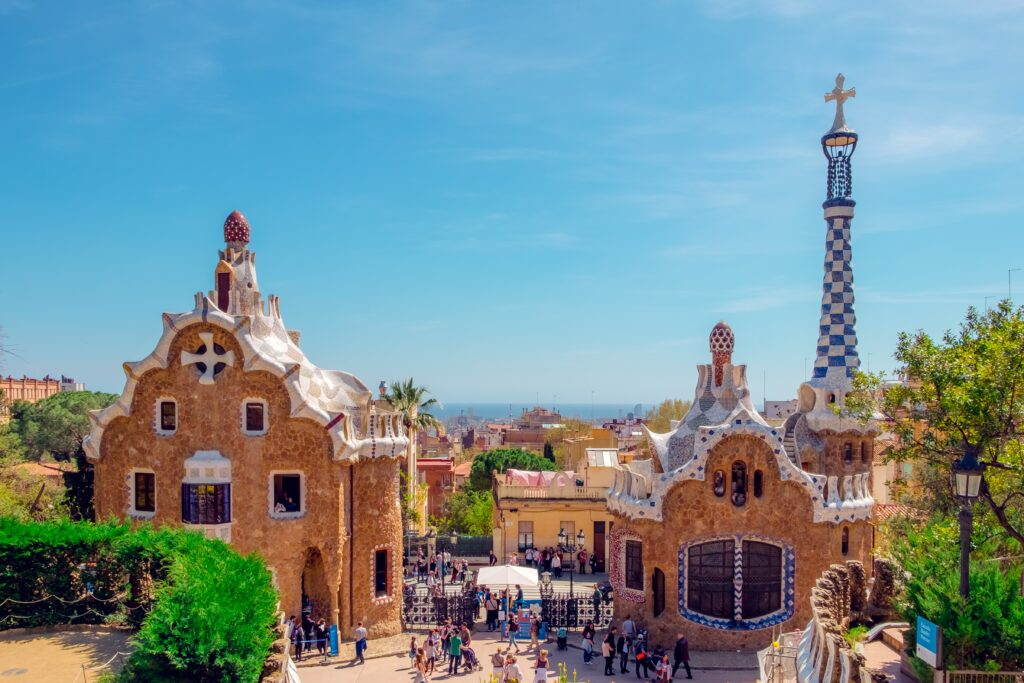 Barcelona is a great destination to visit in April