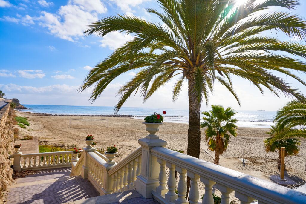 Benicassim in Spain is one of the best places to go in Europe in July