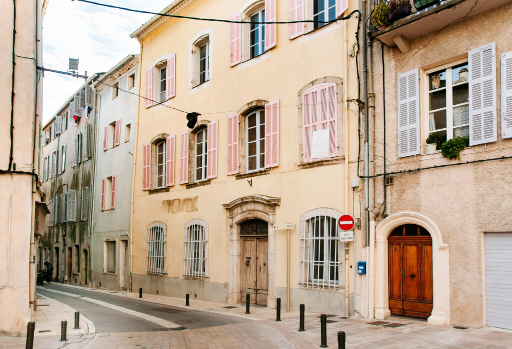 Brignoles - a small town in Provence, France