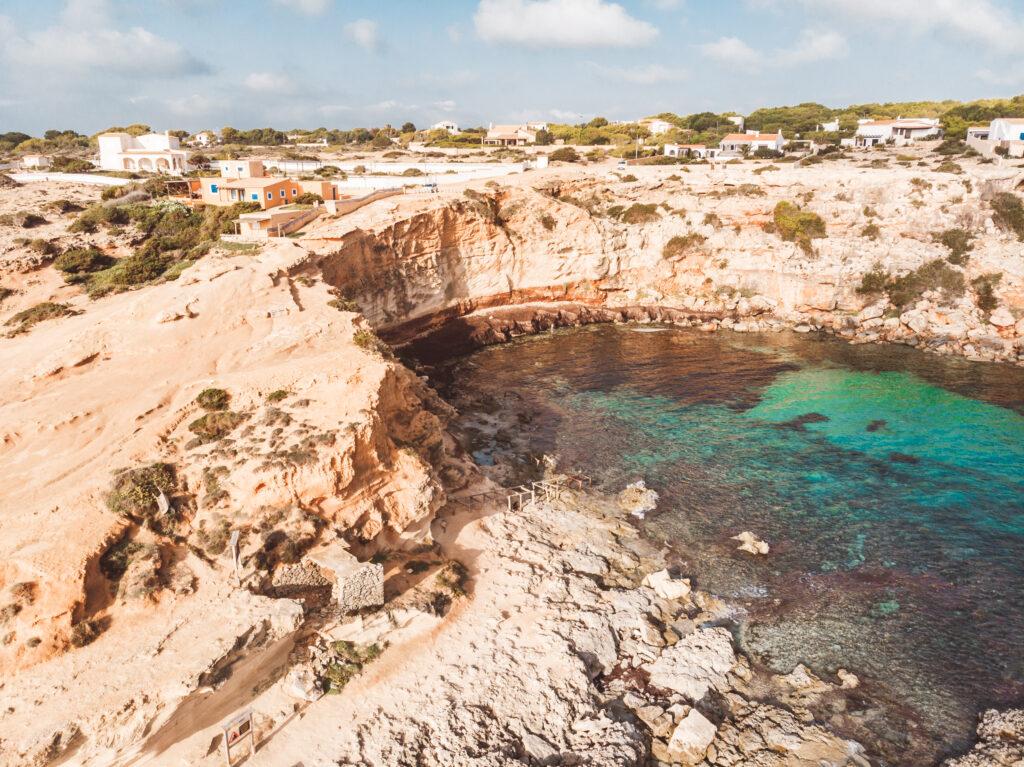 Cala en Baster in Formentera, Spain