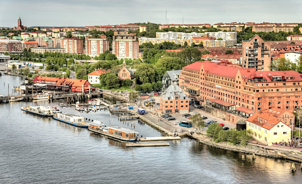 Gothenburg is a great place to visit in Europe in August