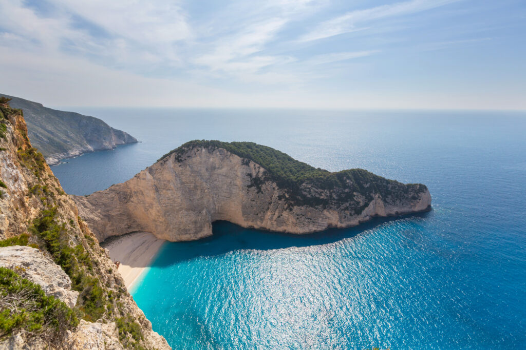 Zakynthos Island in Greece is a fabulous place to visit in Europe in August