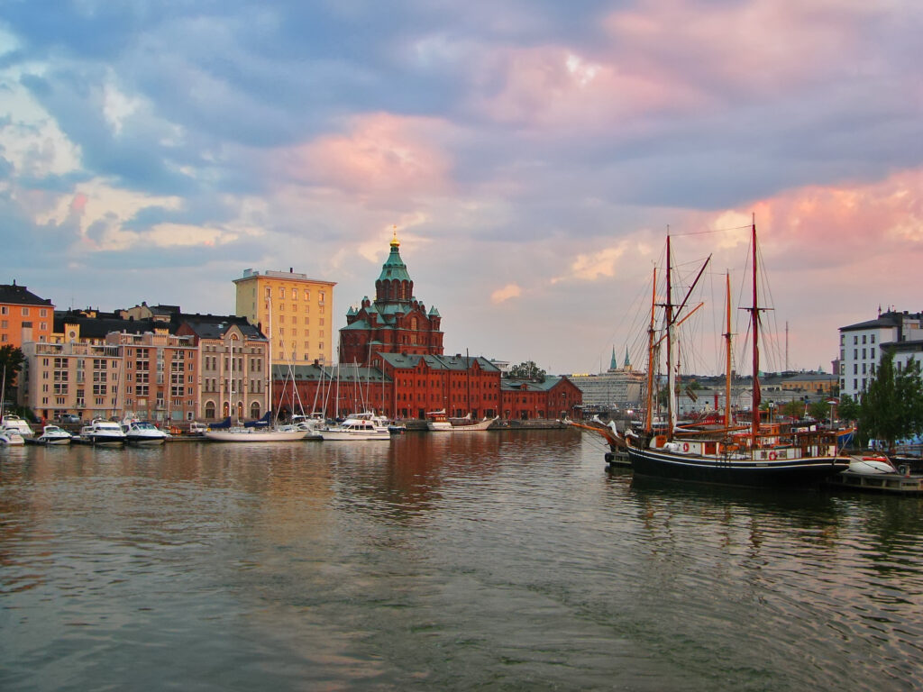 Helsinki is a fabulous place to visit in Europe in August