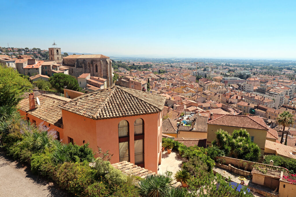 The Southern town of Hyeres in Provence, France