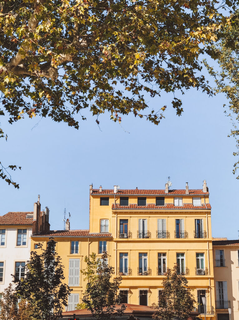 Aix-en-Provence - a beautiful city in Provence