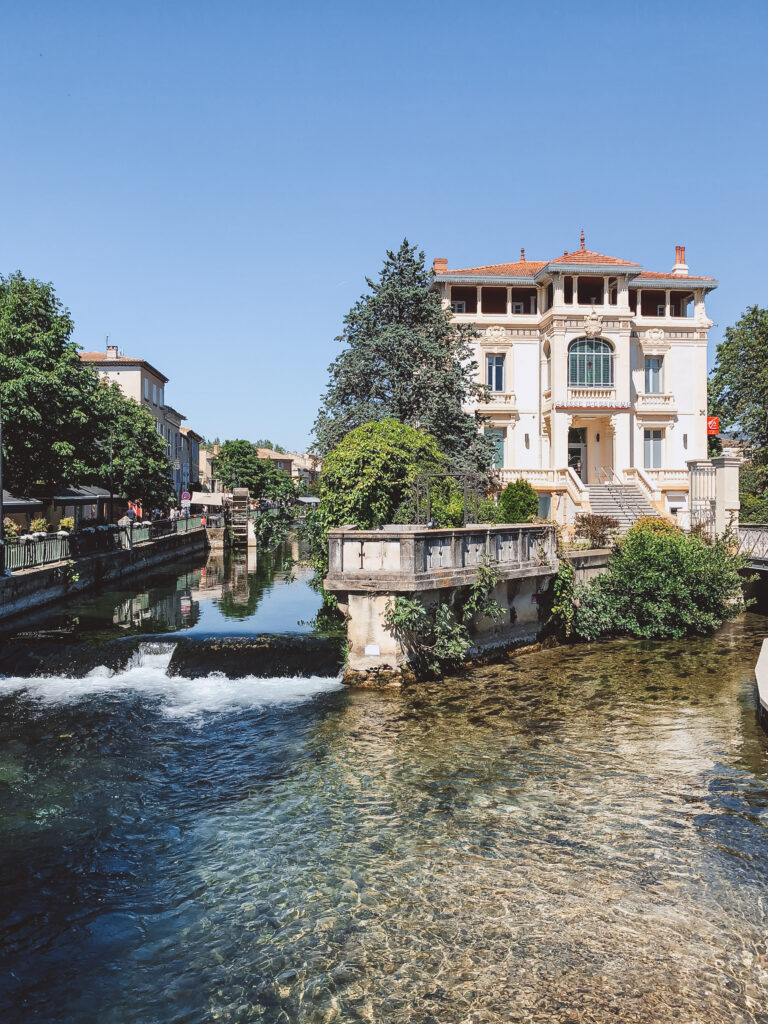 L'isle sur la Sorgue is a charming town in Provence, France