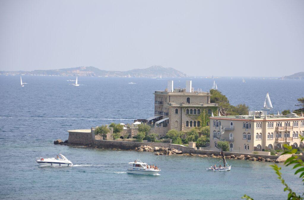 île de Bendor off the coast of Bandol, France