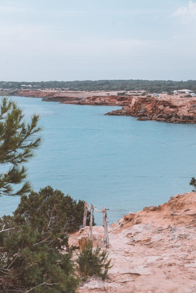Cala Saona beach in Formentera Spain