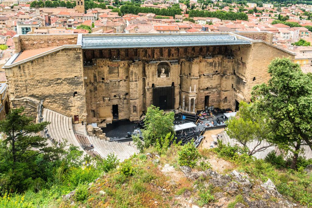 Ancient Roman Theatre of Orange. France.