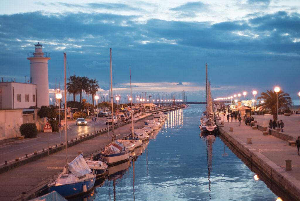 Viareggio in Italy is among the best places to visit in July in Europe
