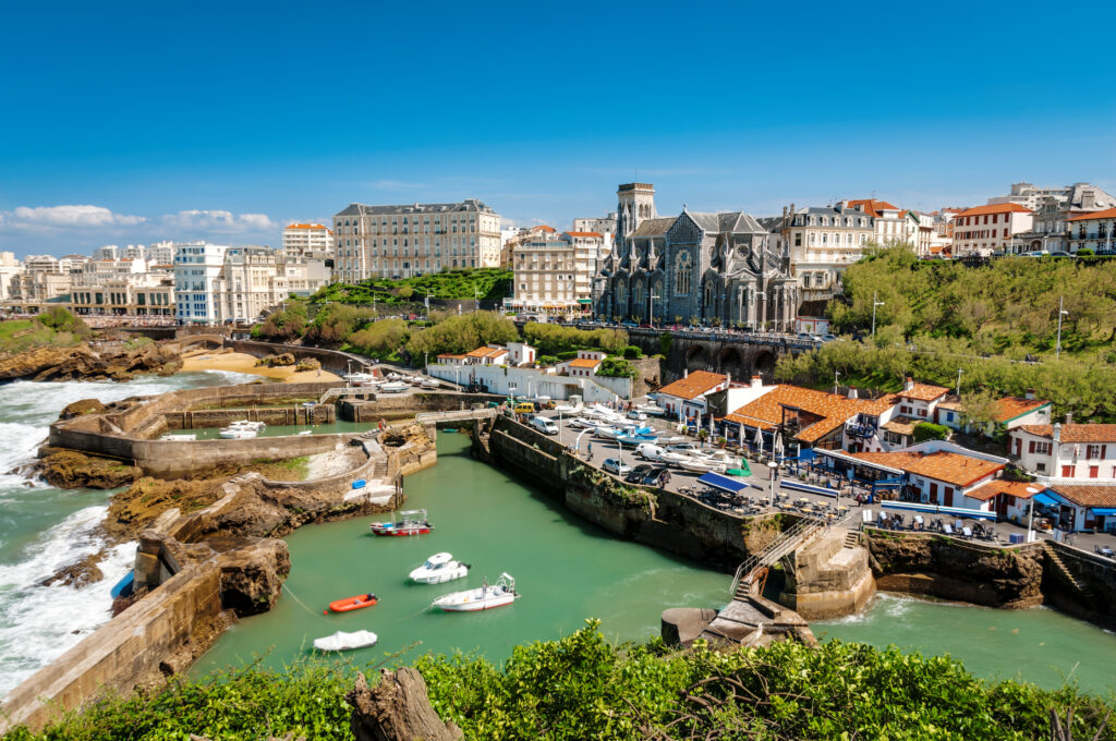 Biarritz is one of the best places to go in France in September