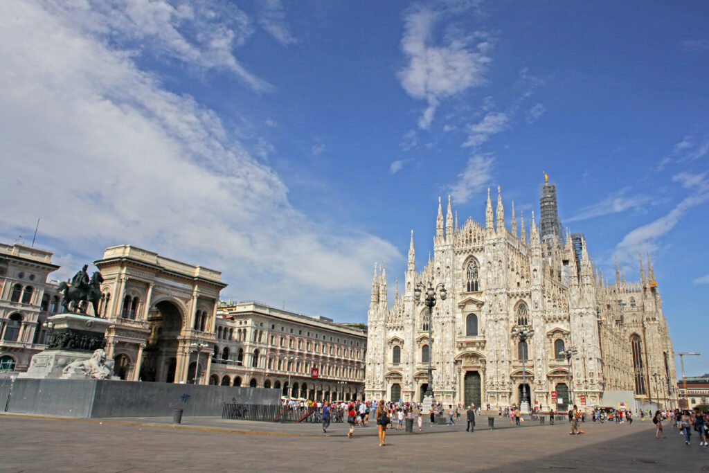 Milan is one of the best European cities to visit in September