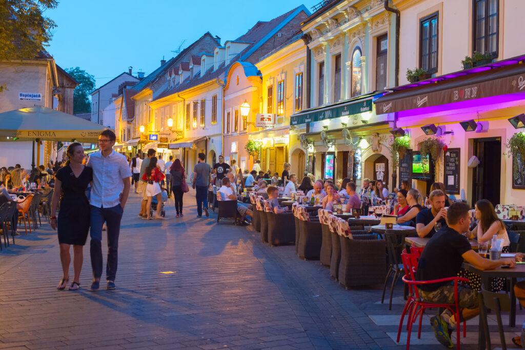 Zagreb, Croatia in September