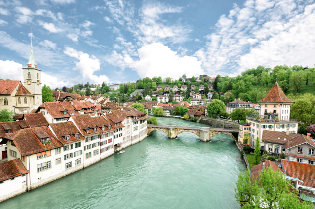 Bern in Switzerland is a great place to go in Europe in November