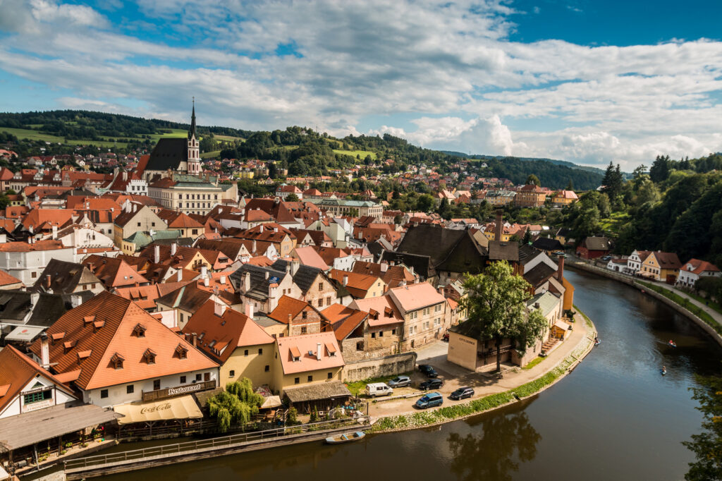 Cesky Krumlov is one of the best European cities to visit in November