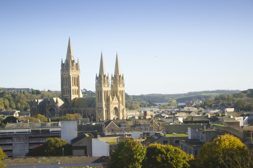 The Cornish city of Truro is a fabulous place to visit in November