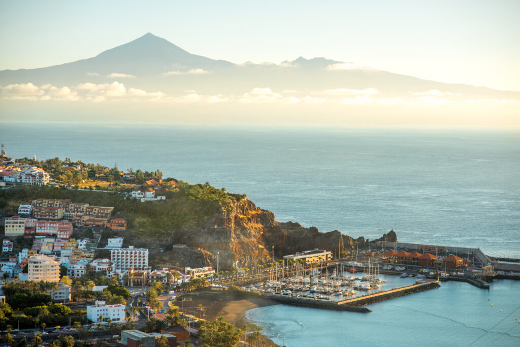 The island of La Gomera is one of the warmest places to visit in November in Europe