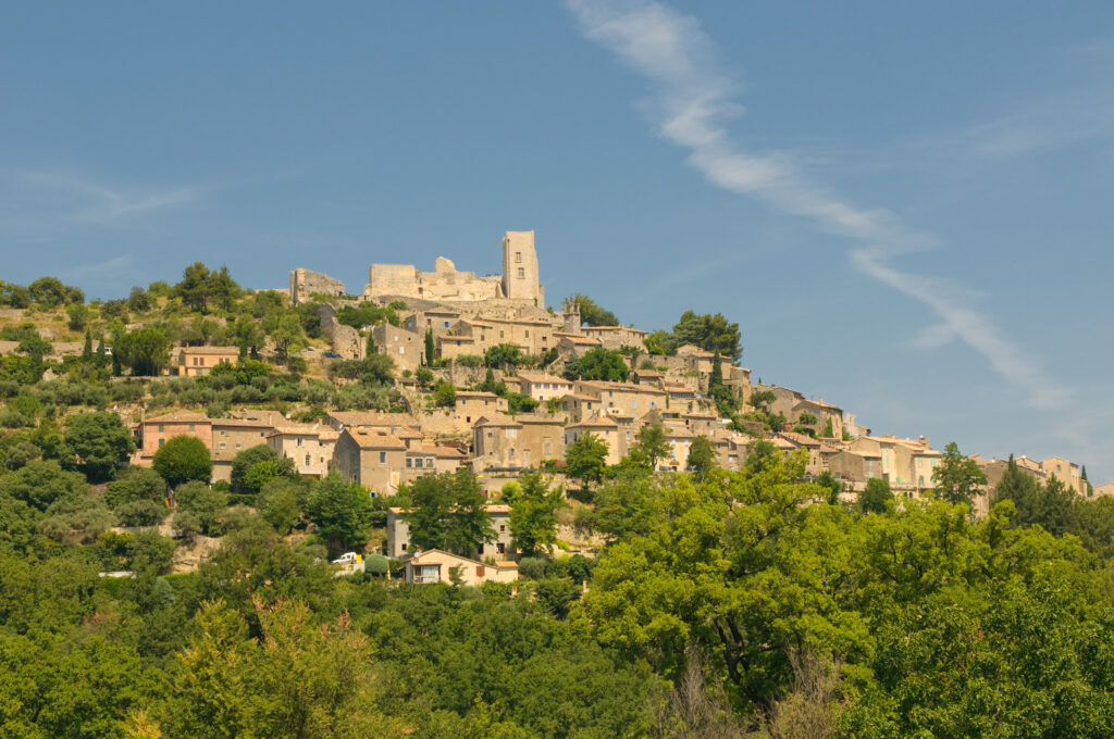 The village of Lacoste in Provence, France