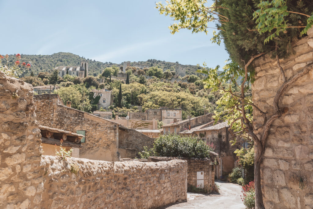 Oppede-le-Vieux is a beautiful ancient village in Provence, France