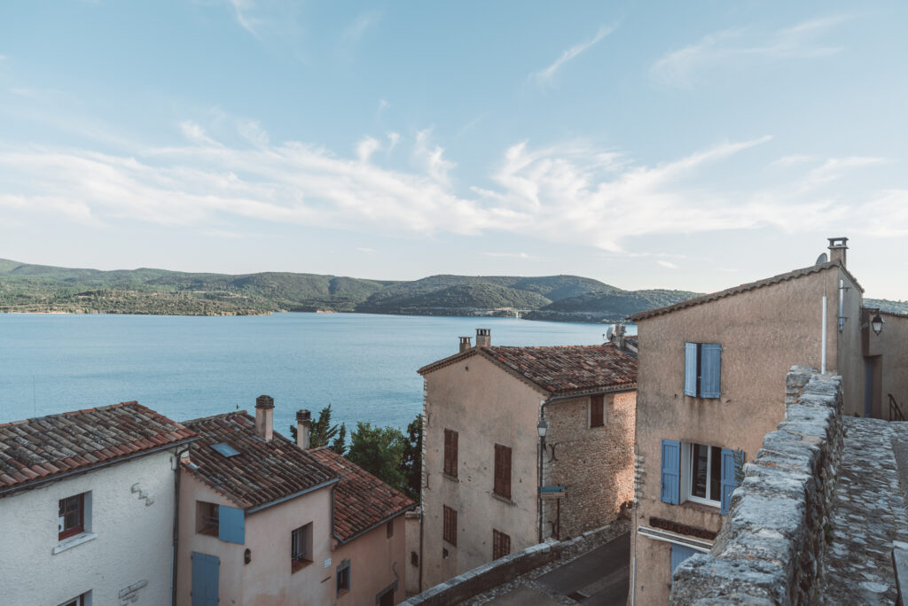 Sainte-Croix-du-Verdon village in Provence, France
