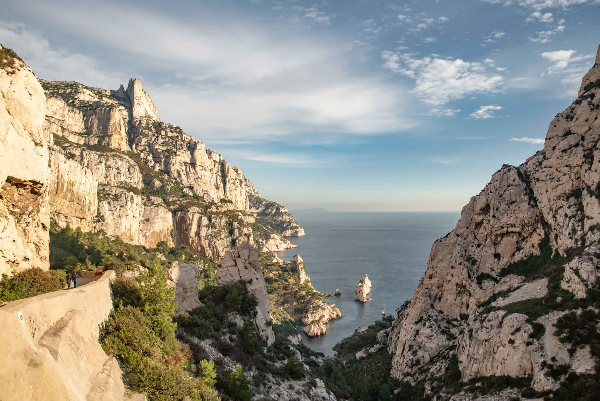 Hiking to Calanque de Sugiton, Marseille France