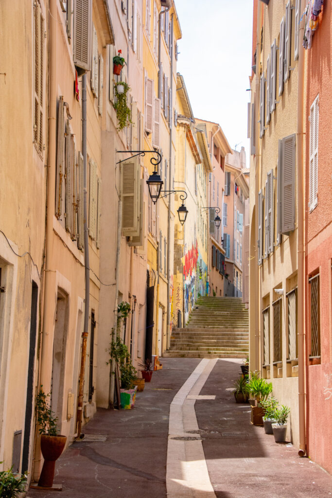 Le Panier District in Marseille is one of the best things to do in the city.