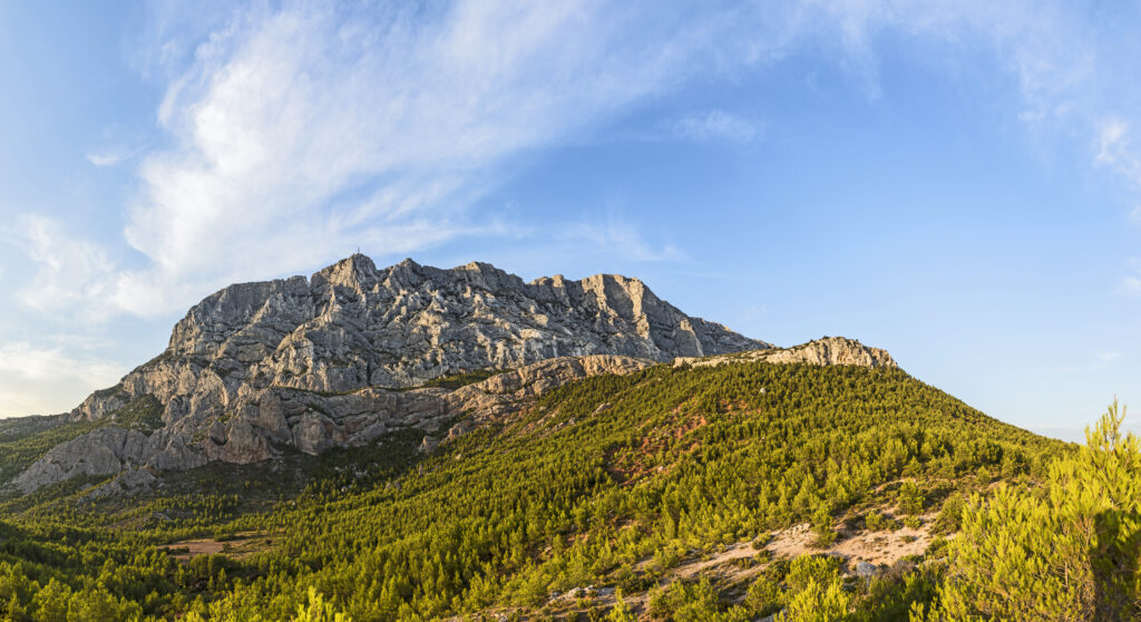 sainte-victoire is one of the wine regions within the Cotes du Provence AOC