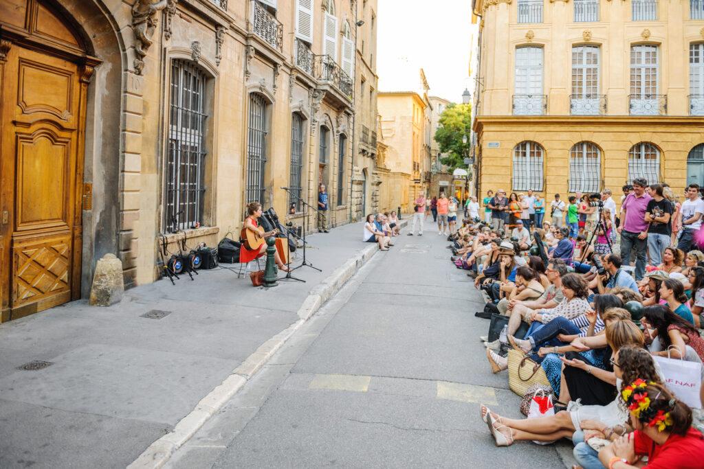 Festival in Aix-en-Provence, France