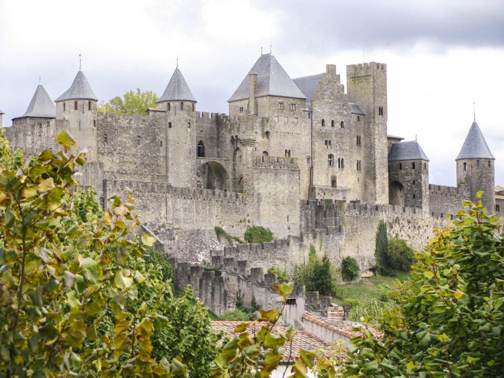Carcassonne festival in France