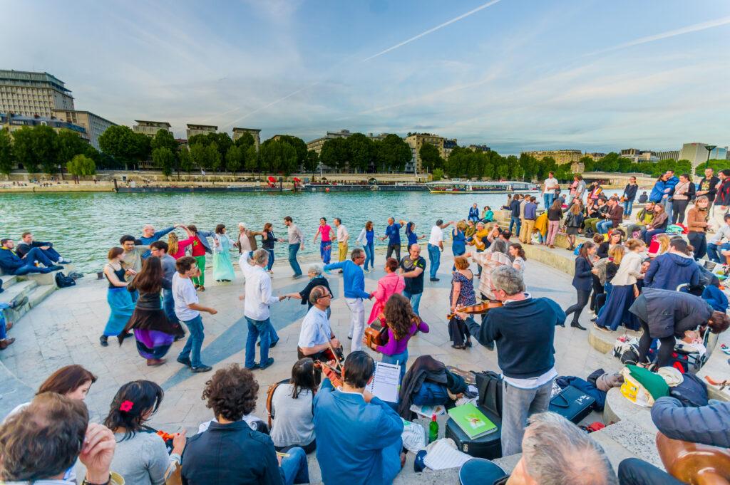 Fete de la Musique in Paris, France