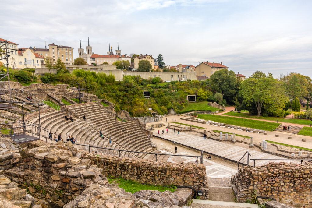 Ancient Theatre of Fourviere in Lyon, France
