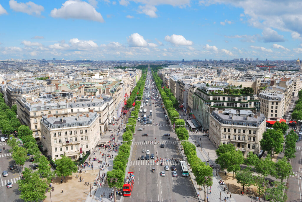 Paris. Champs Elysees
