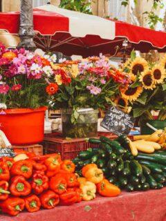 Aix-en-Provence Market Day