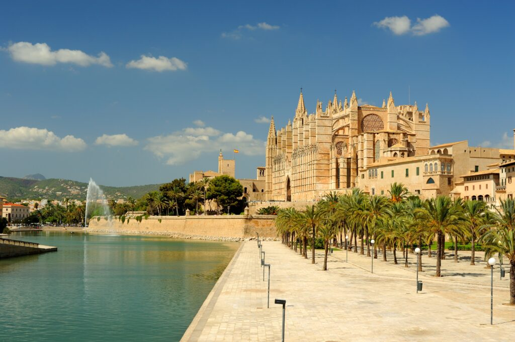 Palma de Mallorca is a great place to stay in Mallorca if you want to be near the action.