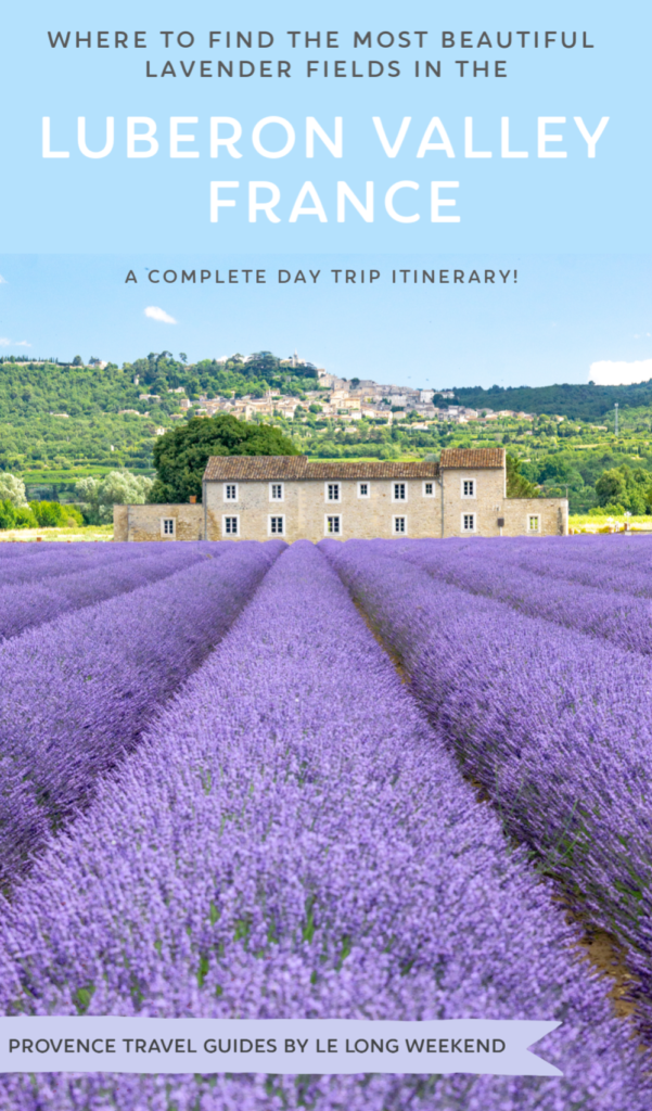 The Luberon is famous for its hilltop villages and bucolic scenery, but come summer it's also one of the best places to find lavender fields in Provence. Find out where to find the most beautiful Luberon lavender fields with this complete one day itinerary!