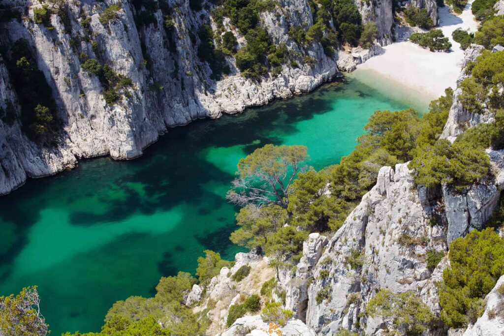 Beach at Calanque d'En Vau near Cassis