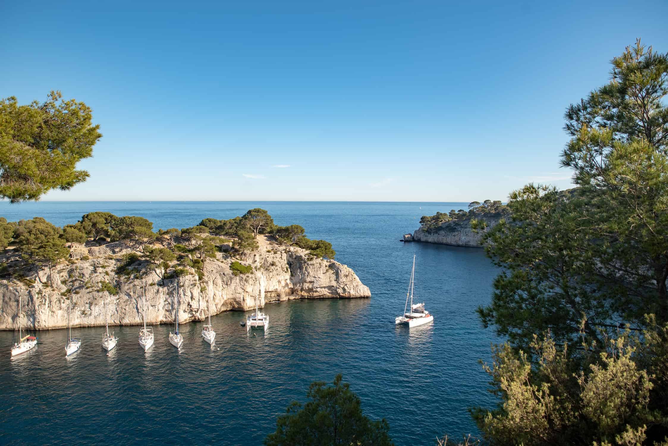 Calanques National Park near Cassis