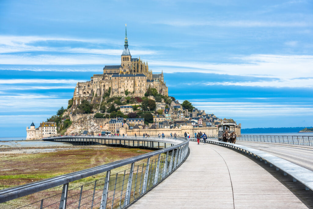 Mont Saint Michel, one of the most iconic landmarks in France