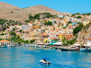 Day trip from Rhodes to Symi