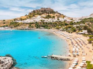 Best Beaches in Rhodes Island Greece