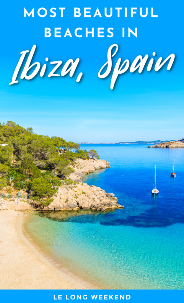 Discover the most beautiful beaches on the Balearic Island of Ibiza, Spain. From secluded secret coves, to family favourites, we've scoured the coast for the very best beaches on Ibiza, Spain!